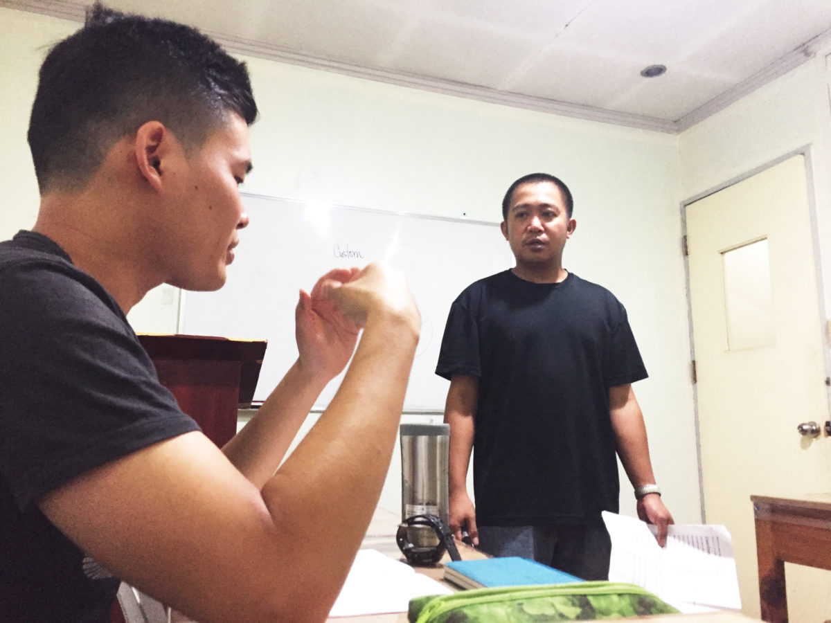 A&Jナイトクラス フィリピン人講師