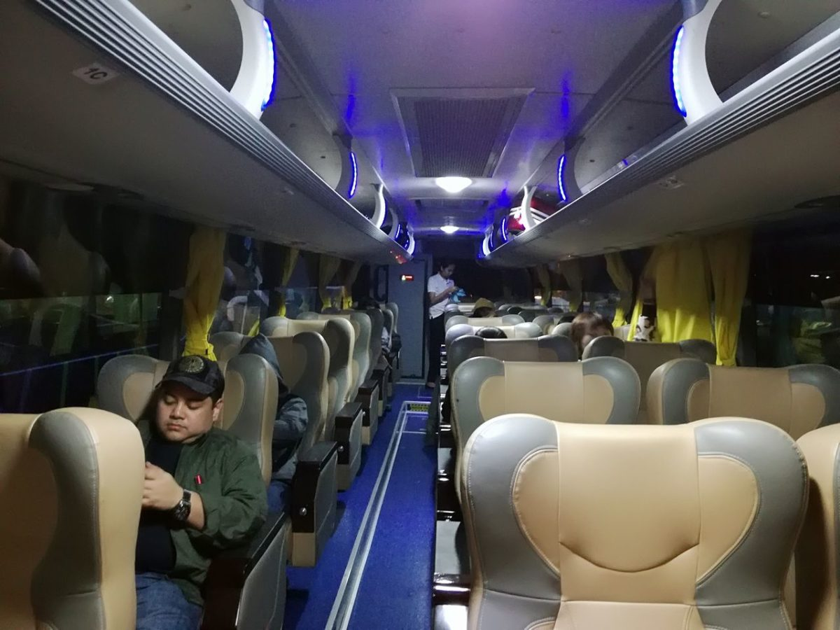 ジョイバス車内