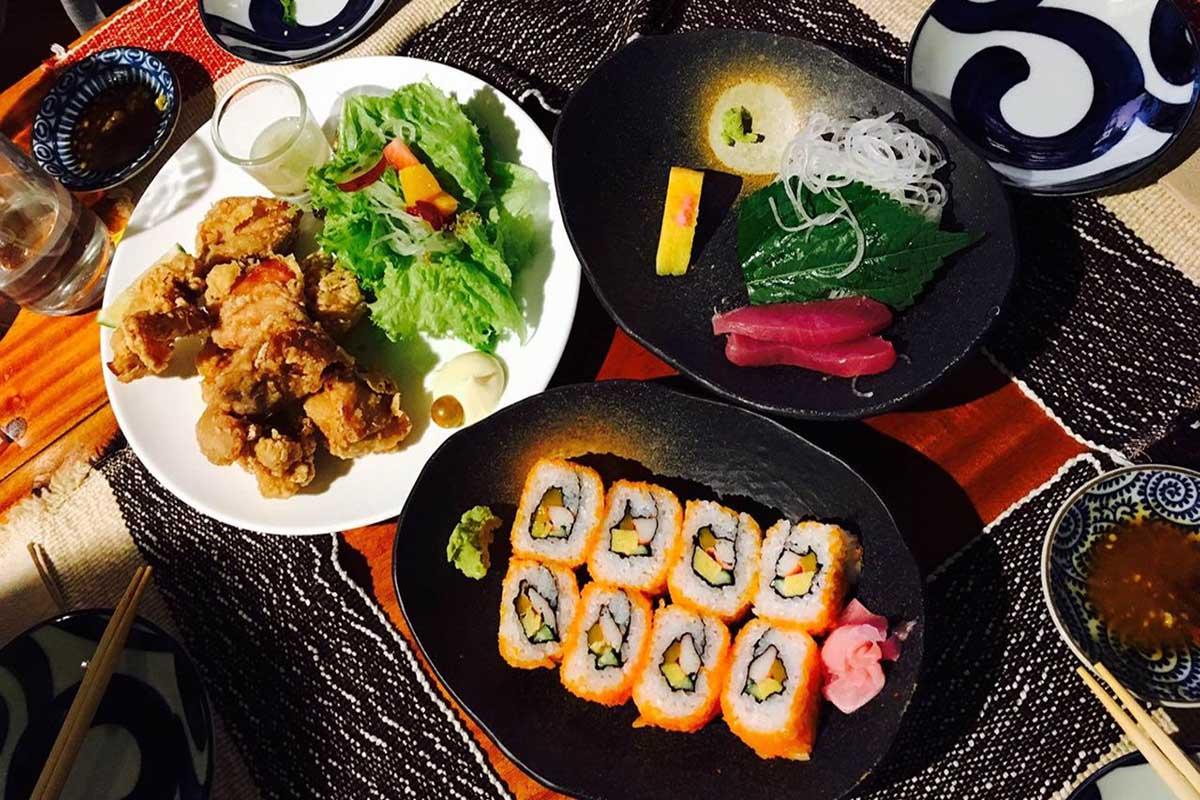バギオで日本食