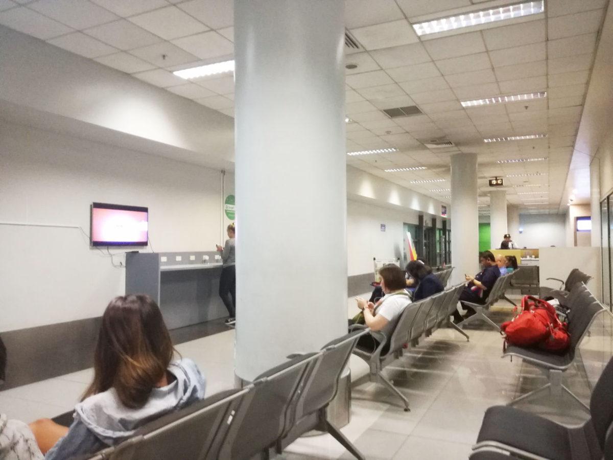 マニラ空港 ターミナル間シャトルバス 待合室