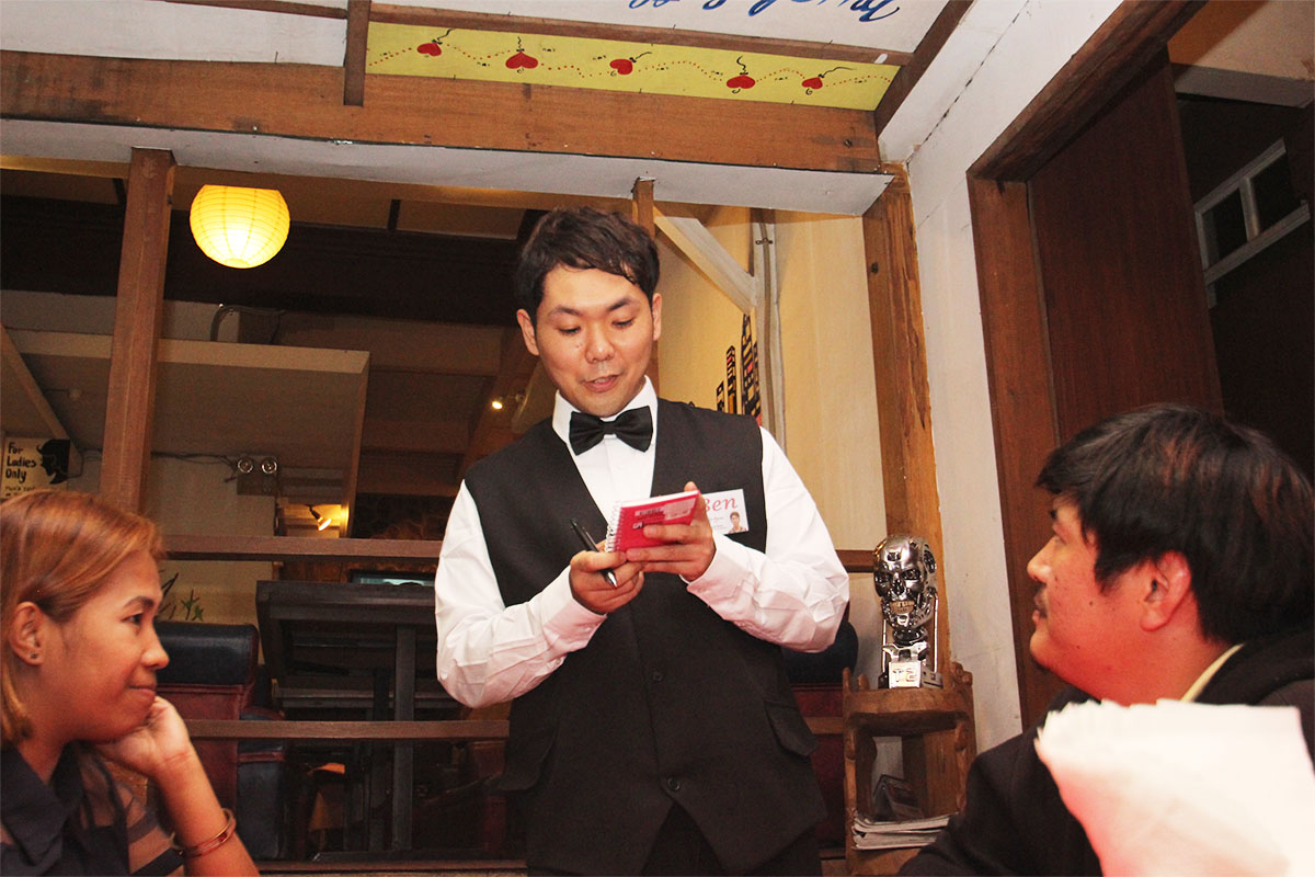 Cafe willでのOJT