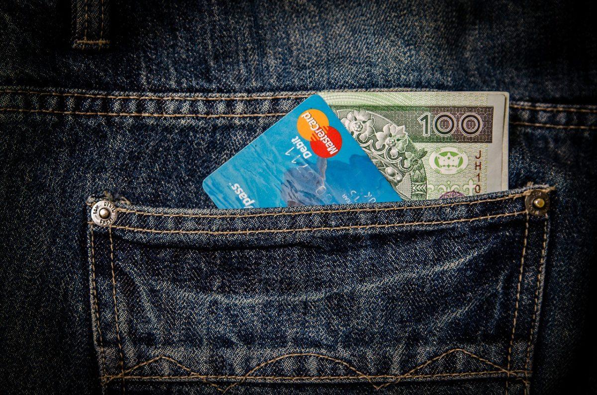 現金と国際キャッシュカード