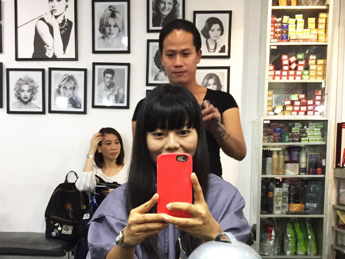 オネエの美容師