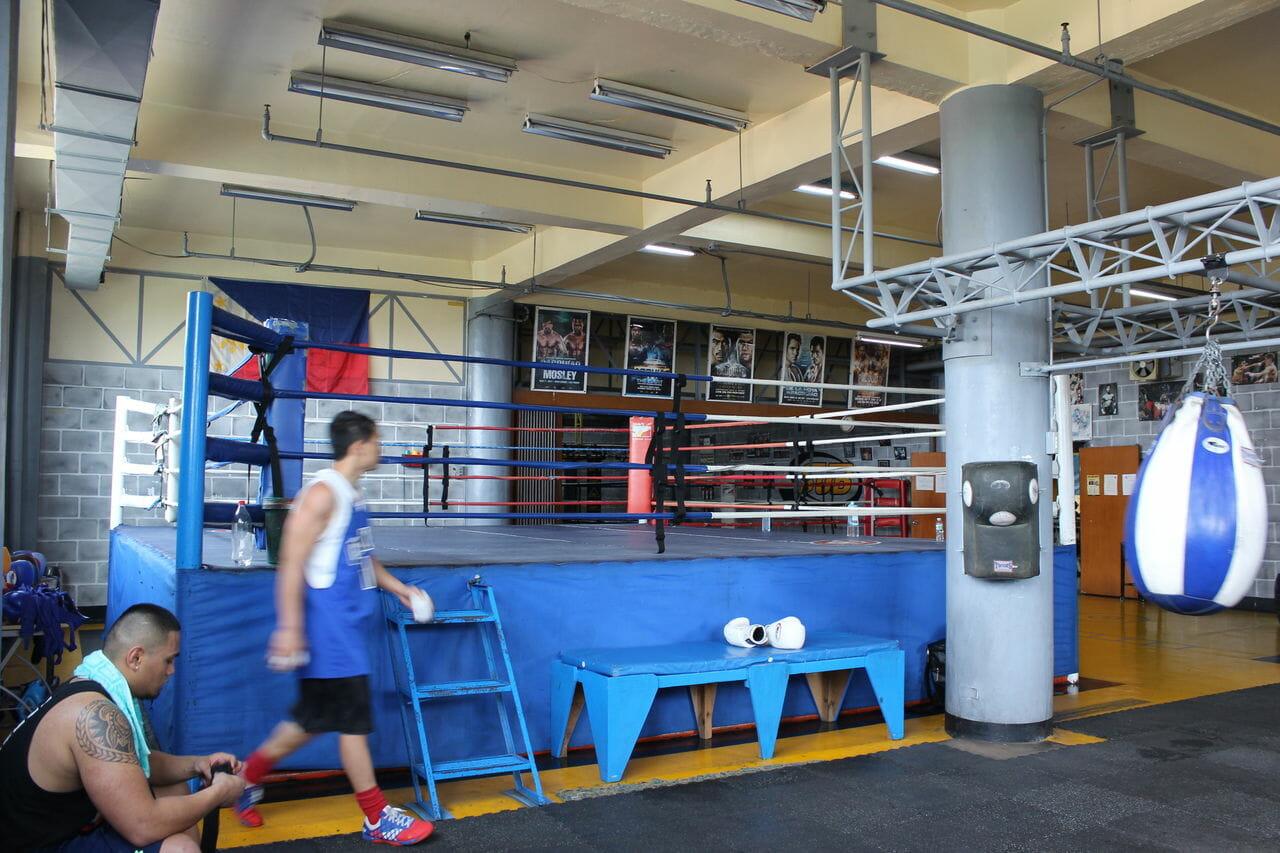 ボクシング ジム バギオ