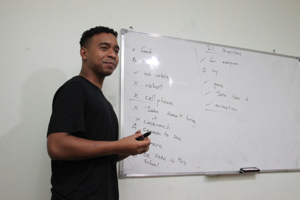 ネイティブ講師ナイトクラス ゲーム