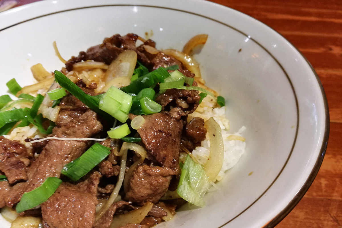 XIANGHE - GOLD SOUP BEEF NOODLE