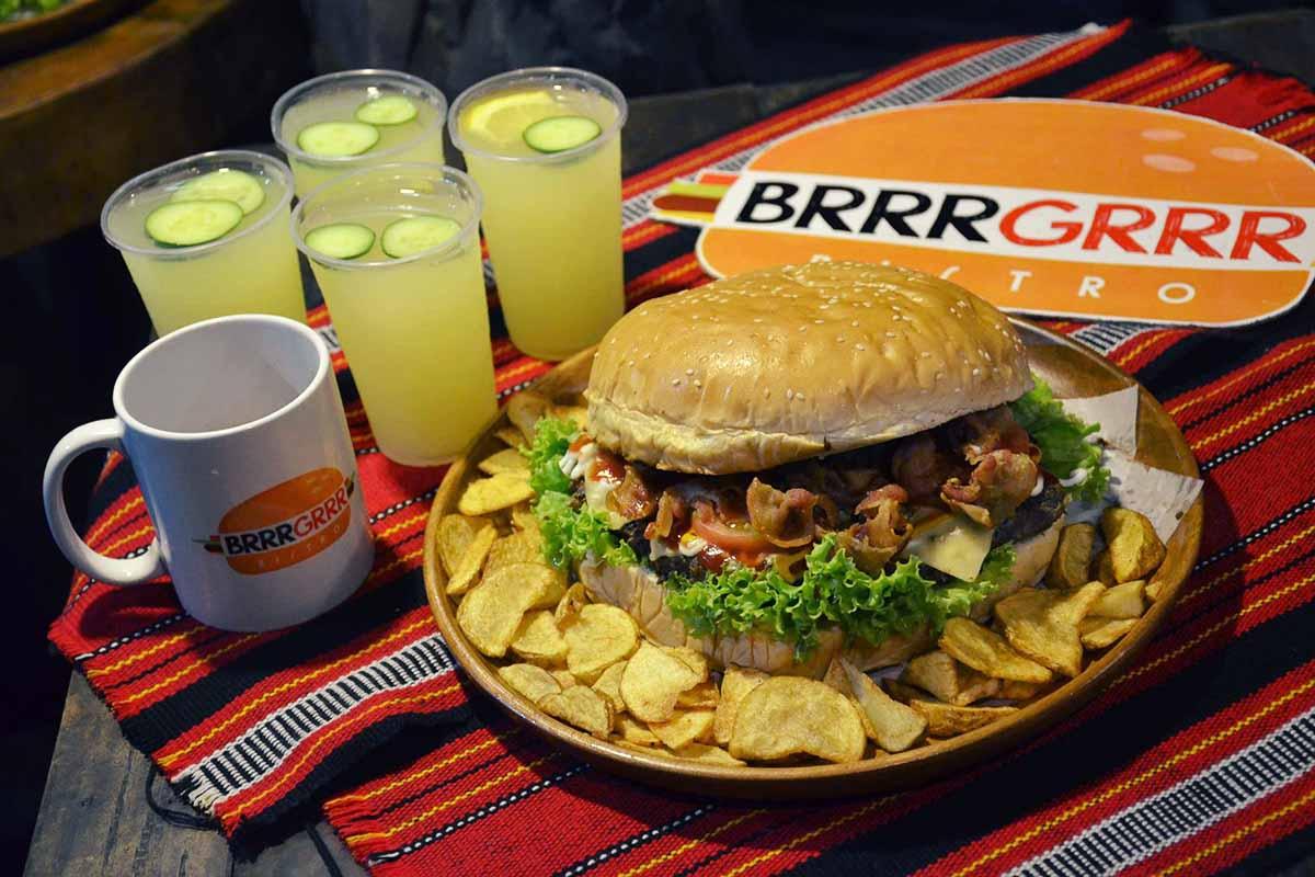 バギオのハンバーガーレストランBrrrGrrr