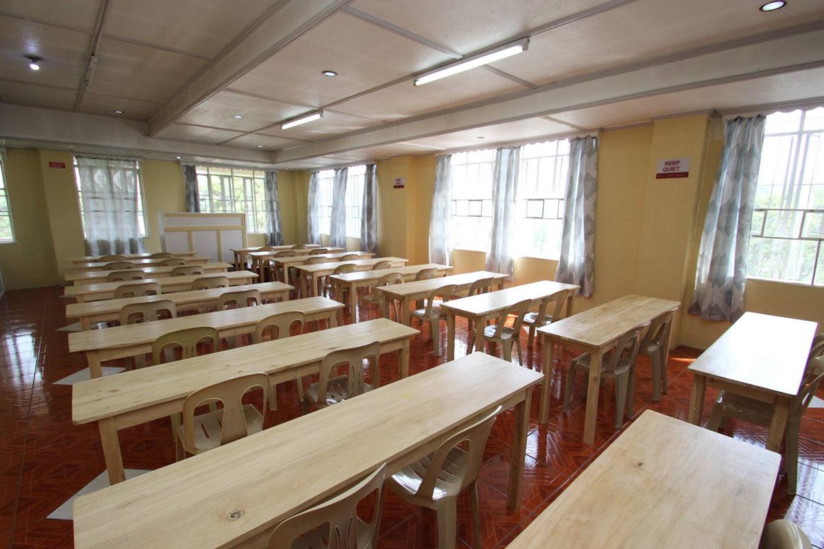 A&J 校舎 自習室