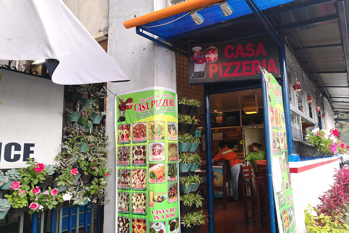 casa pizzeria バギオ