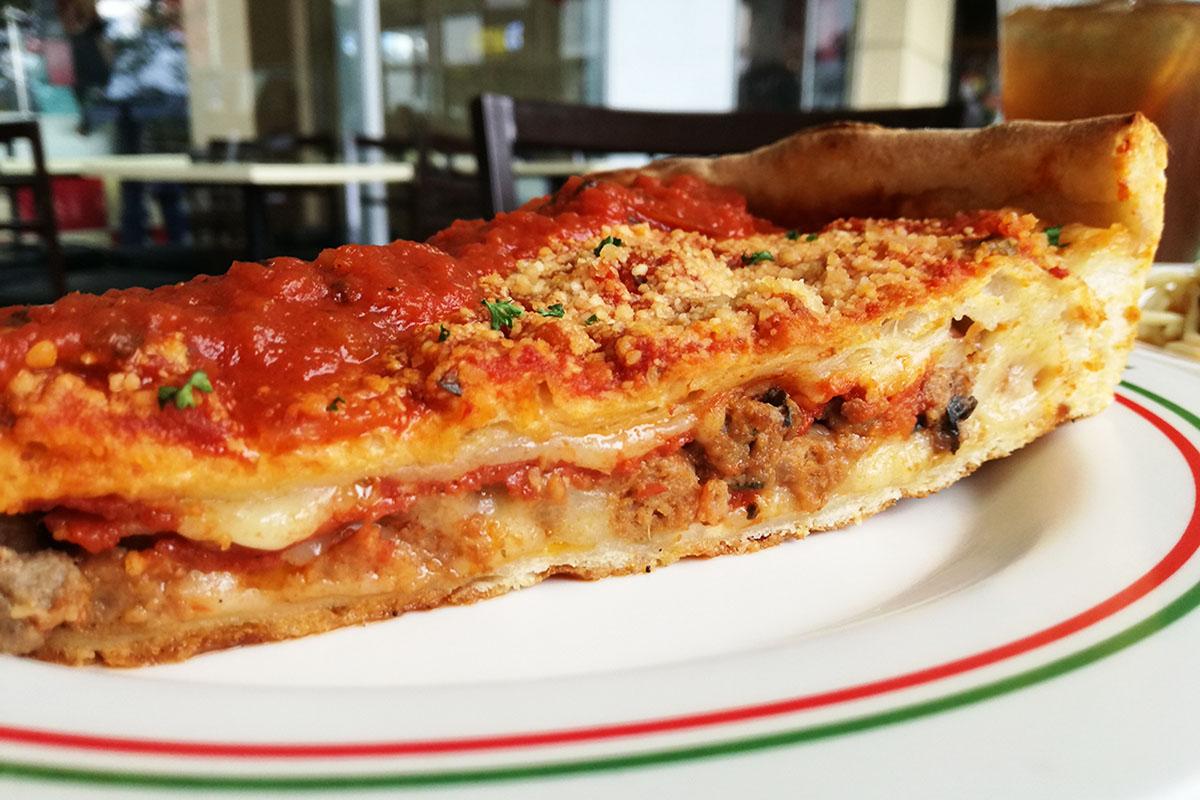 Sbarroのシカゴピザ