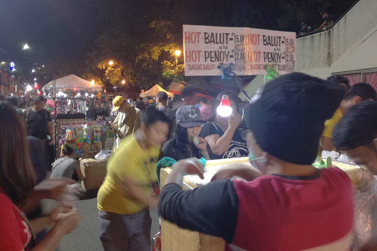 バギオナイトマーケット バロットはフィリピン人に無くてはならないもの