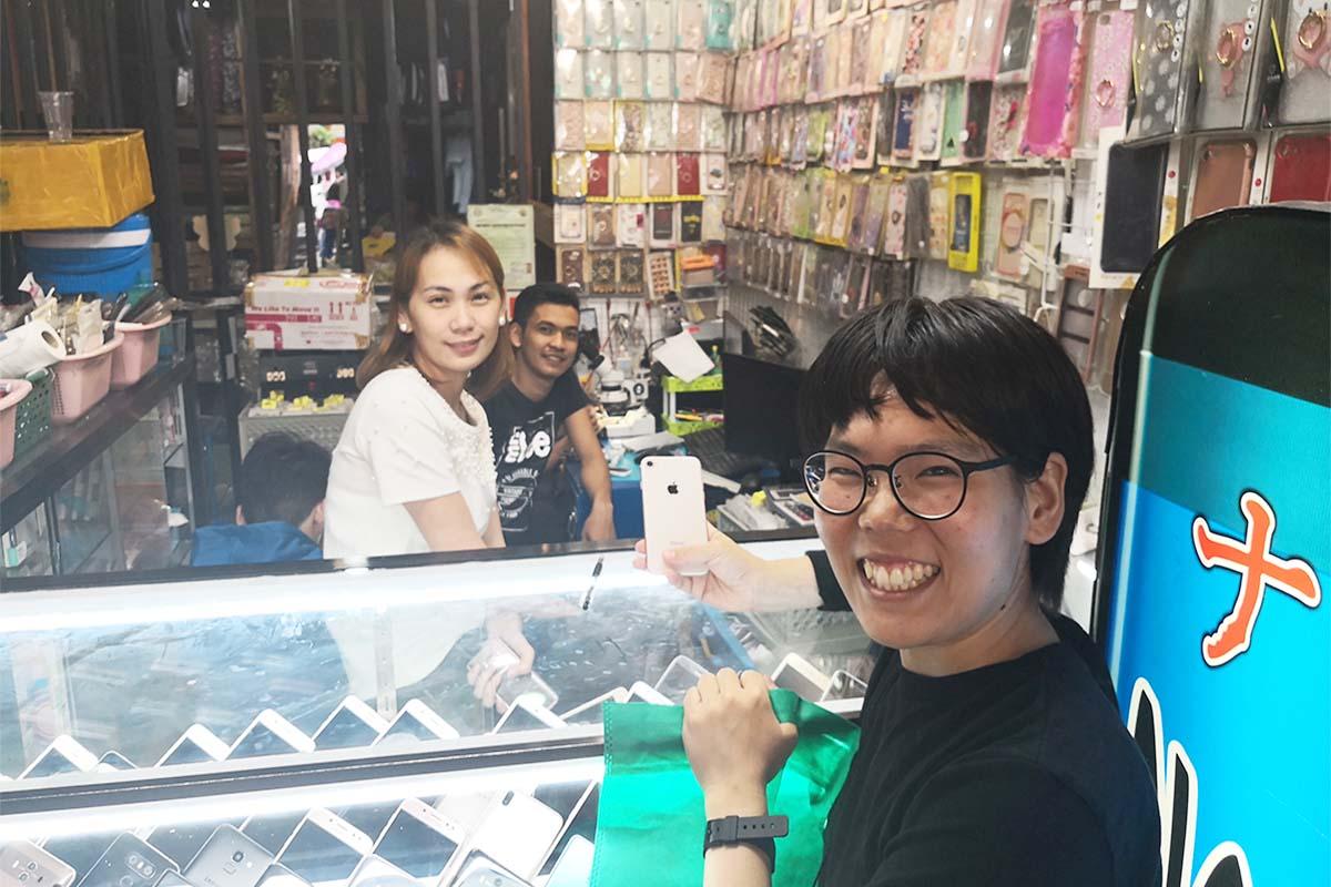 フィリピンで中古スマホ、中古iPhoneを買っても大丈夫!