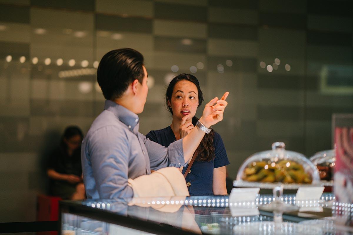 レストラン、カフェでの質問やリクエストの際に使える簡単英会話フレーズ
