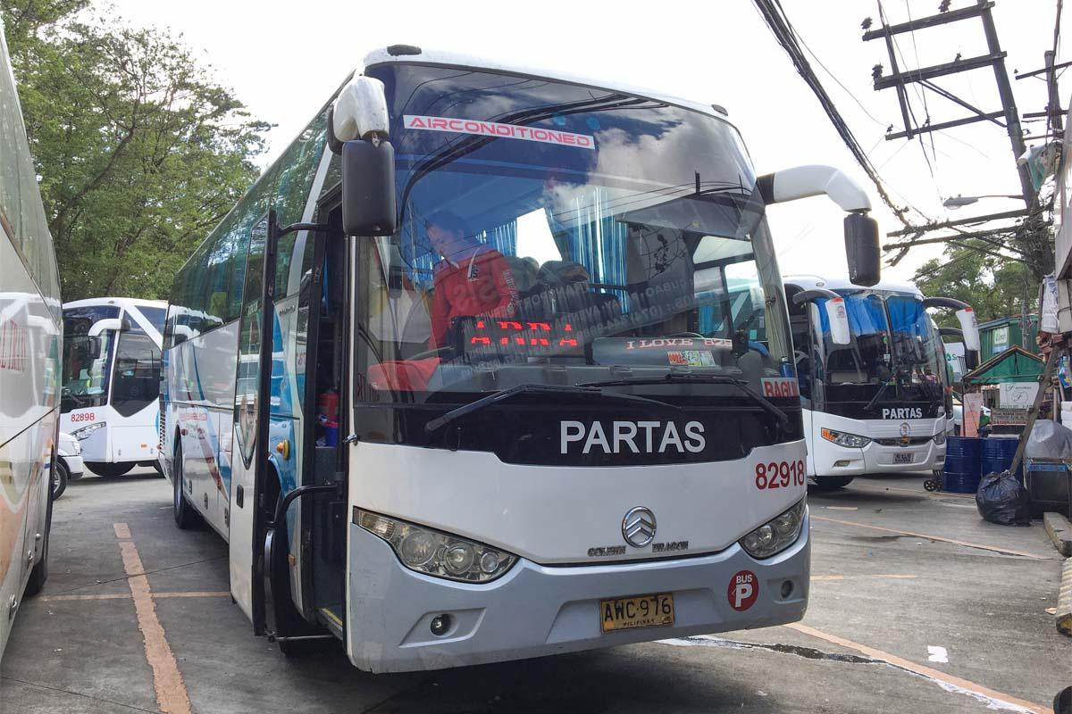 パタス バスの外観