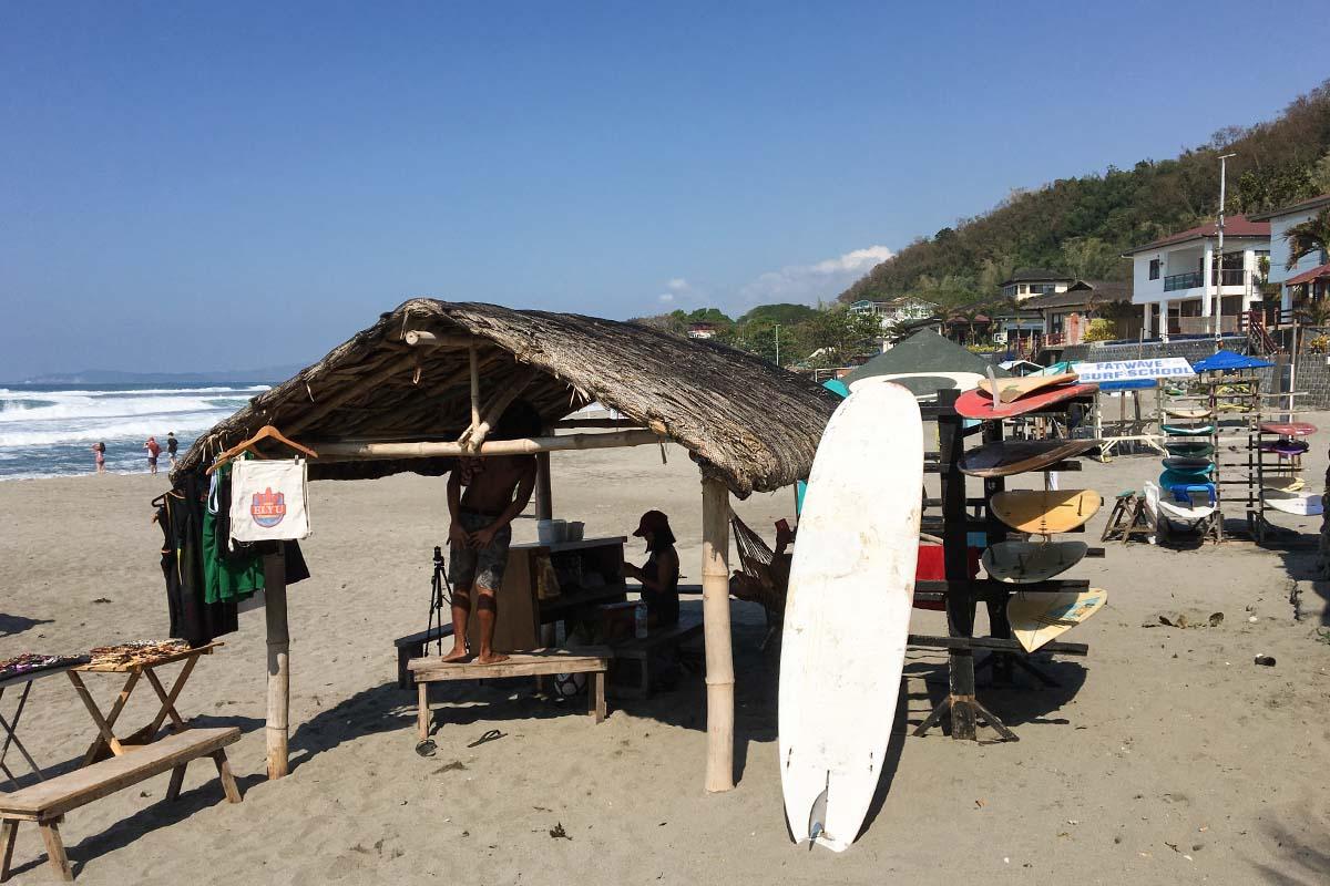 サンファン サーフィン インストラクターの手配方法